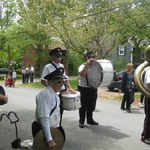 Charlestown Parade--percussion section and Nate
