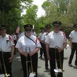 Charlestown parade trombones