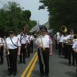Marching on Route 1A--Charlestown Memorial Day Parade