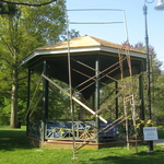 Reconstruction of Wilcox Park Gazebo 1902-2017