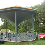 Beautiful newly restored Gazebo June 11, 2017