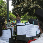 Conducting the Westerly Band for