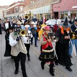 Halloween Parade down High Street