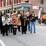 Parade reaches corner of High and Canal