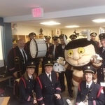 The Westerly Band posing with