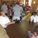 Refreshments at VFW Mystic
