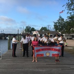Concert Mystic River Park July 24,2018 Marching in