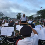 Mystic River Park, John Bruno conducting