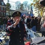 Veteran's Day 100 Anniv ceremony Alison conducting