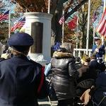 Veteran Day 2018 ceremony Wilcox Park