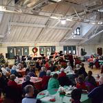 Audience enjoying Christmas concert 2018