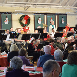 Westerly Band plays Christmas and holiday pieces