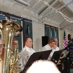 Westminster STring concert with Westerly Band members