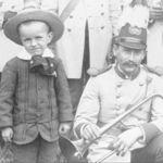 From a band photograph, circa 1885