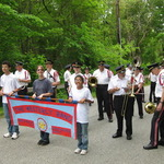 Memorial Day-Prep for parade in Pawcatuck
