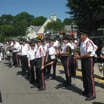 Memorial Day Ceremony on Westerly/Pawcatuck Bridge
