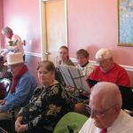 Christmas Carolling at Nursing Homes