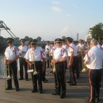 Mystic River Park-marching in for concert