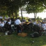 Shelter Harbor Concert--last minute preparations
