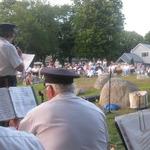 Shelter Harbor Concert--Allison Patton announces