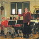 Allison Conducts Audience Singing