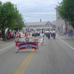 Leading the band Memorial Day Westerly