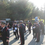 Preparing to line up for Veteran's Day Parade, Pawcatuck, CT