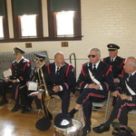 After Veteran's Day Parade, Westerly Armory