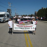 Westerly Band--Grand Marshall 2011