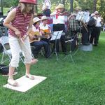 Jug band accompanies Westerly Band