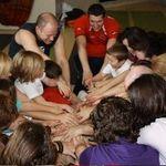 Family Yoga circle