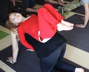 Family Yoga massage table