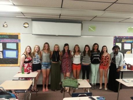 Algebra 2A 2013:  The Ladies in 3rd Period