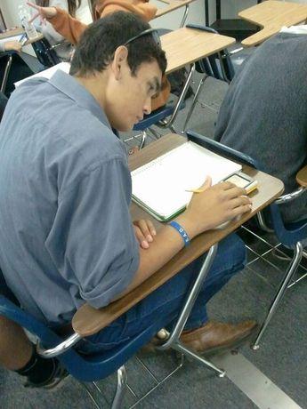 Working on homework