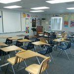 The classroom.