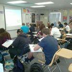 Honors Algebra 2 at work.