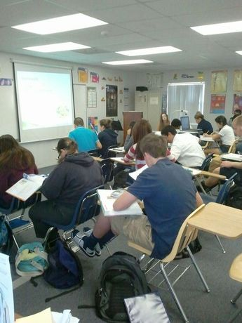 Honors Algebra 2 at work.