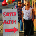 Pancake supper sign 2014