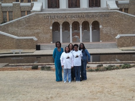 Visit to Little Rock Central High