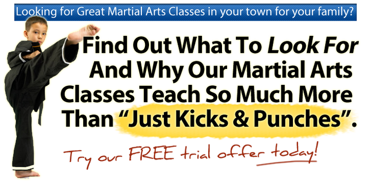 Looking for Great Martial Arts Classes in your town for your family?  Finf Out What to Look For And Why Martial Arts Classes Teach So Much More Th...