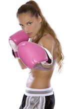 Pink-boxer