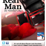 What to give a REAL MAN for Valentine's Day