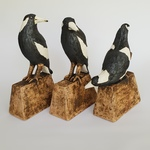 Trio of Maggies on Stands