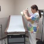 One of Three Clinic Examination Rooms