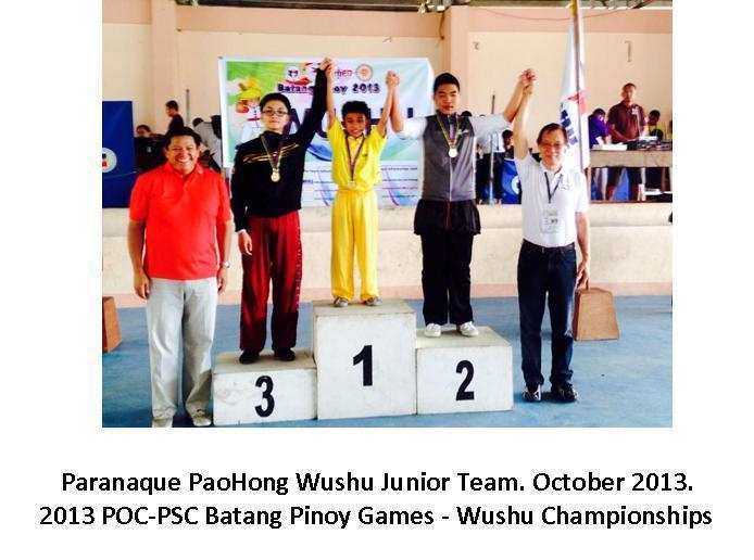 Introduction paranaque paohong wushu powered by doodlekit paranaque paohong wushu junior team brought home 1 gold medal and 1 bronze medal at the said event stopboris Choice Image