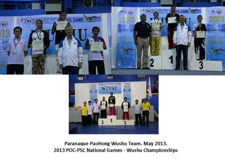 Introduction paranaque paohong wushu powered by doodlekit paranaque paohong wushu team brought home 6 gold medals 2 silver medals and 1 bronze medals at the said event stopboris Choice Image