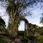 Ruined Gate and Fence