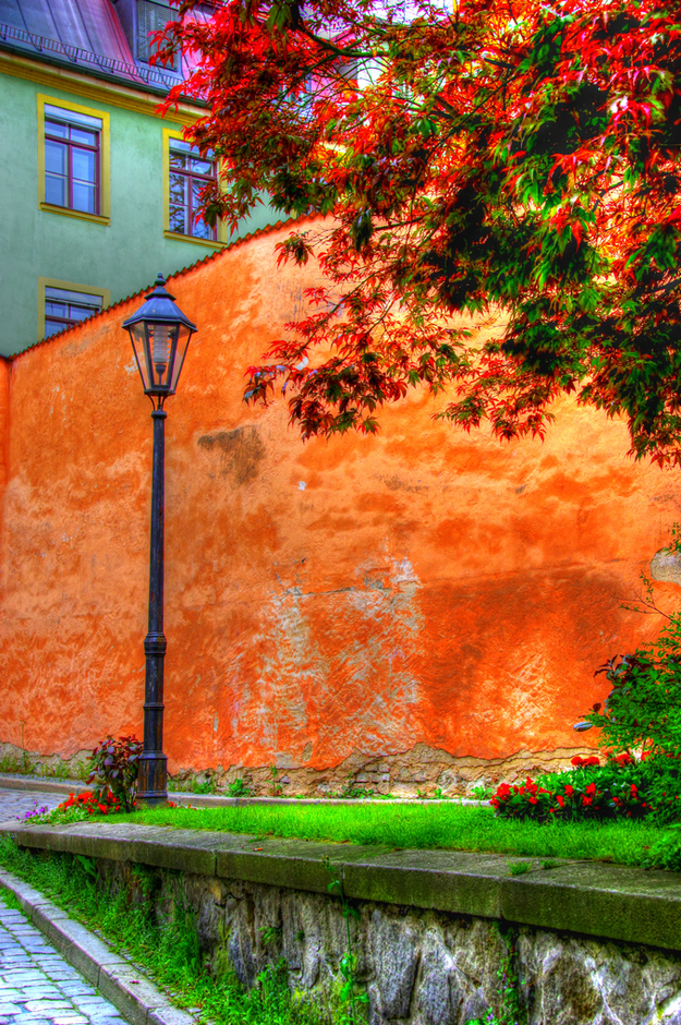 Alleys in Passau, Germany