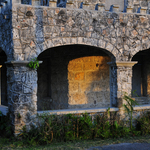 Porch of the Castle-Hose