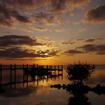 Sunset on Islamorada, Florida Keys.